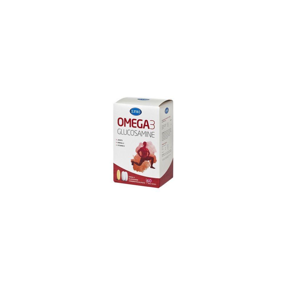 omega-3 glucozamină și condroitină