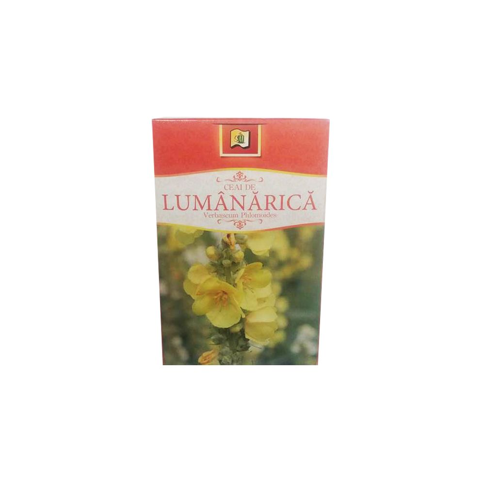 Ceai de lumanarica, 50 g, Stef Mar